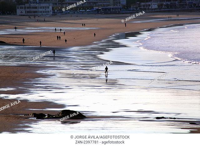 Sardinero Beach, Santander, Spain