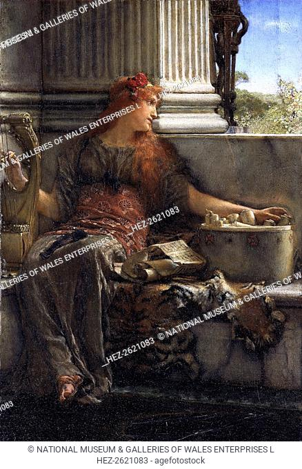 'Poetry', 1879. Artist: Sir Lawrence Alma-Tadema
