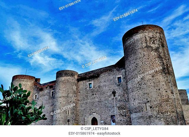 Castle Ursino of Catania, Sicily