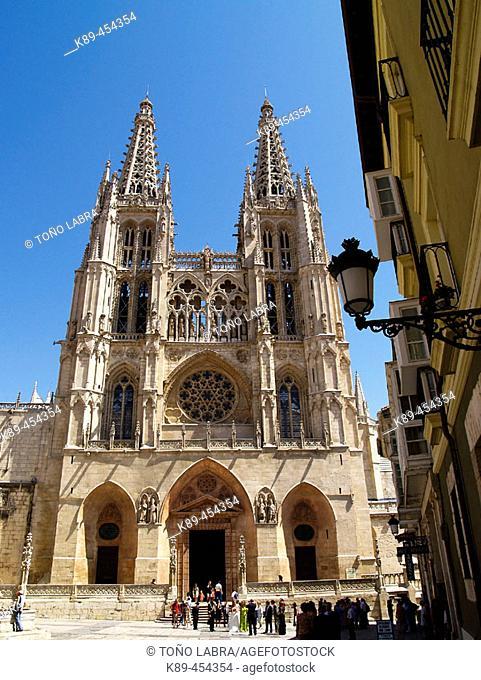 Gothic cathedral, Burgos. Castilla-León, Spain