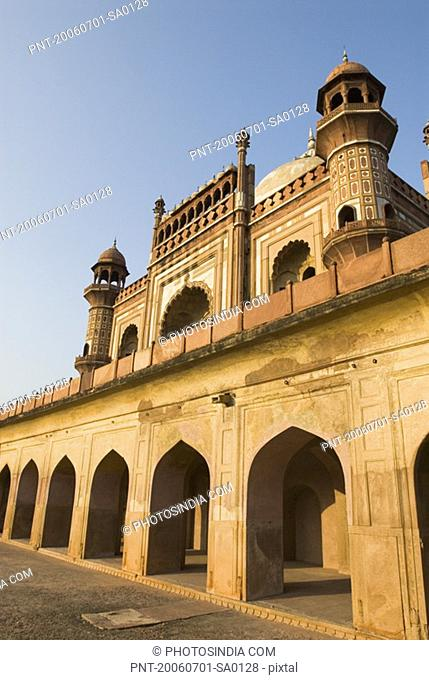 Low angle view of a monument, Safdarjung Tomb, New Delhi, India