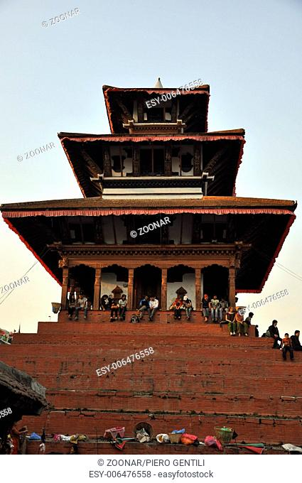 historic building in nepal