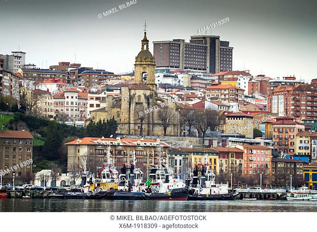 Portugalete  Biscay, Basque Country, Spain
