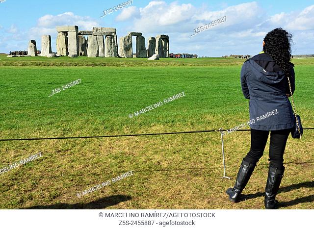 Stonehenge is a prehistoric monument located in Wiltshire, England. United Kingdom