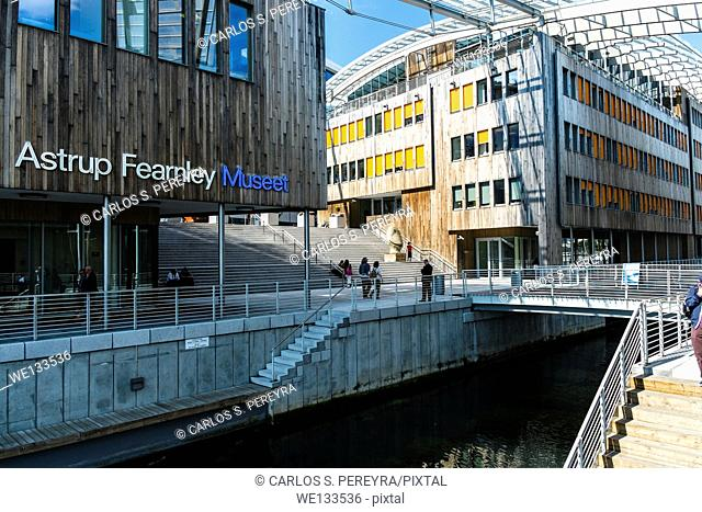 Astrup Fearnley Museum. It was built as part of Tjuvholmen Icon Complex (2006-2012) and was designed by Renzo Piano Building, Oslo, Norway, Europe