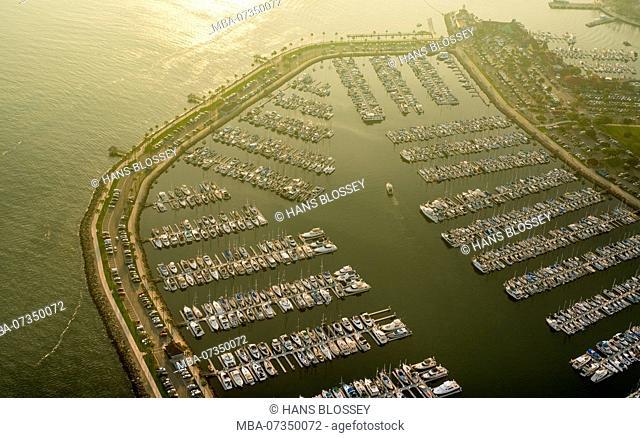 Down Town Long Beach Ship Marina, Long Beach, Los Angeles County, California, United States