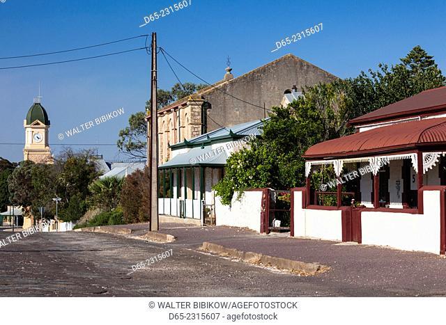 Australia, South Australia, Yorke Peninsula, Moonta, former copper-mining boom town, house