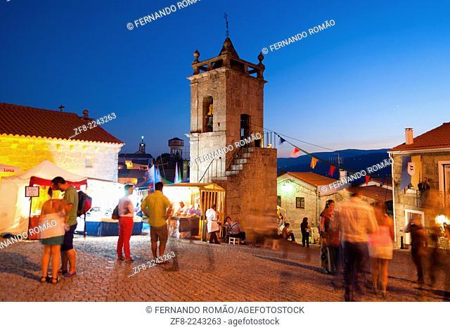 Medieval street fair at Belmonte, Portugal