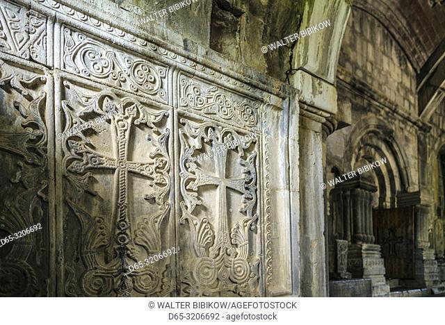 Armenia, Debed Canyon, Haghpat, Haghpat Monastery, 10th century, Church of the Holy Cross, interior