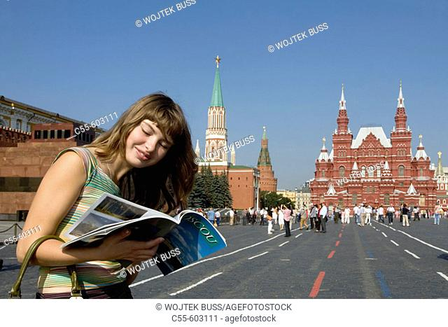 Historical Museum. The Red Square. The Kremlin. Moscow. Russia