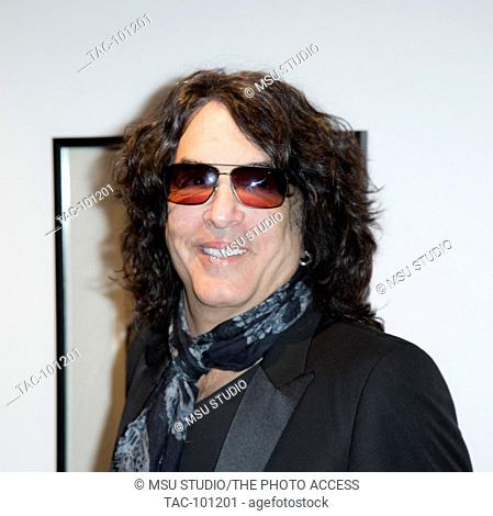 Paul Stanley attends KISS exhibition & Pre-Grammy party at Morrison Hotel Gallery on February 13, 2015 in West Hollywood, California, USA