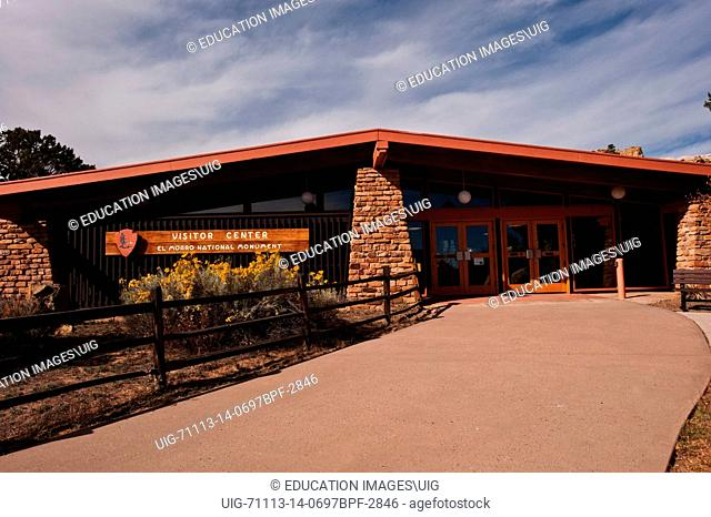 New Mexico, El Morro National Monument Visitor Center