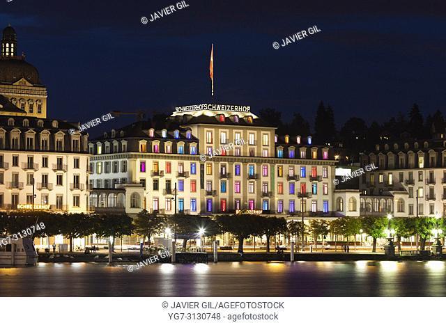 Schweiwerhof hotel, Lucerne, Switzerland