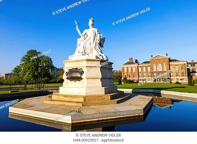 England, London, Kensington, Kensington Palace, The Sunken Garden