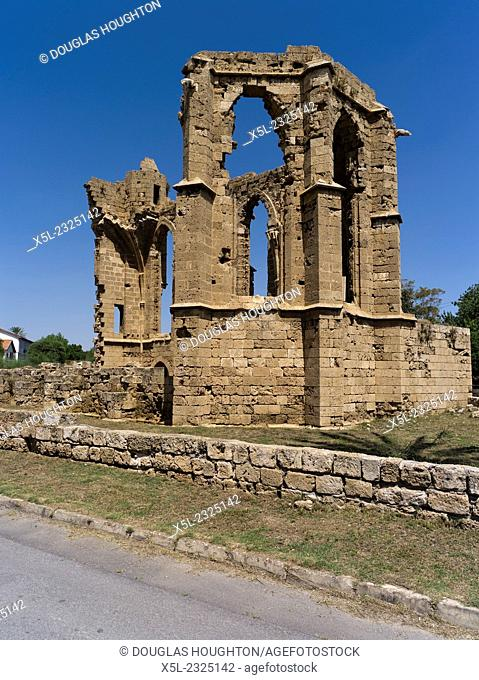 Old Town FAMAGUSTA NORTHERN CYPRUS Church of St George of the