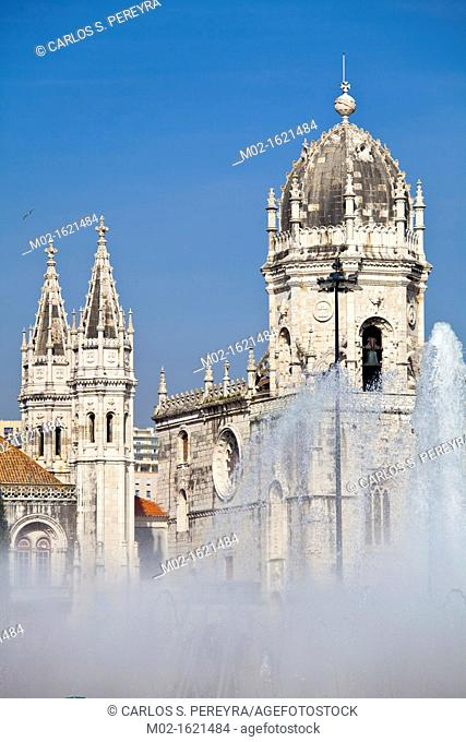 Mosteiro dos Jerónimos Monastery, UNESCO World Heritage Site, Lisbon, Portugal, Europe
