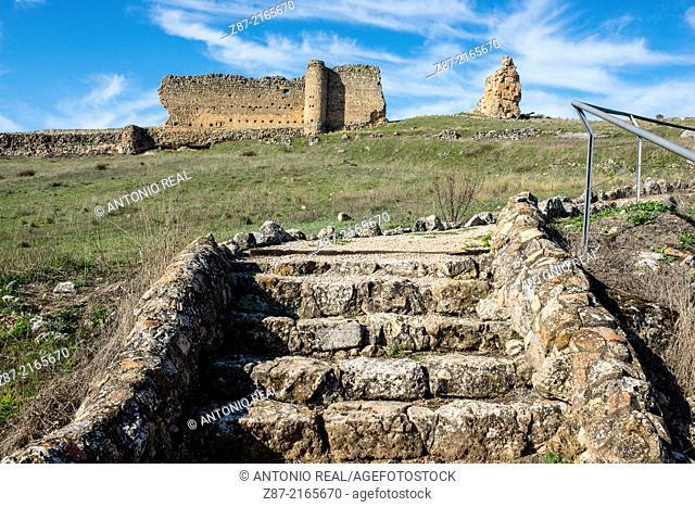 Archaeological park of Valeria, Cuenca province, Castilla-La Mancha, Spain