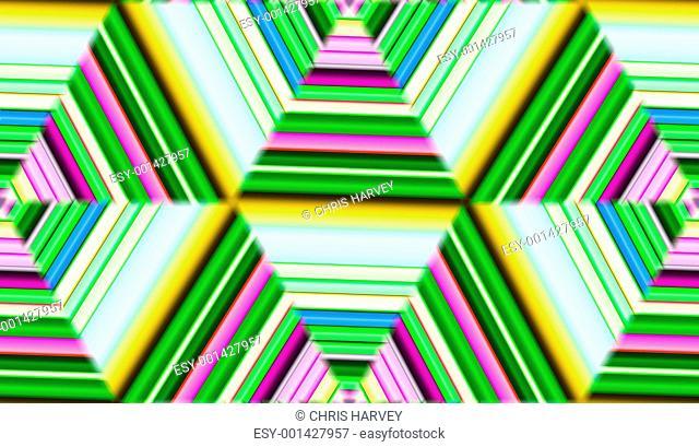 Colour Tile Pattern Background 7