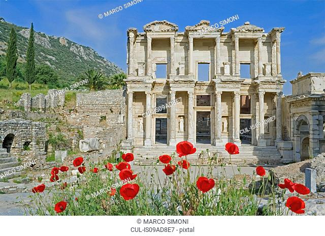 Library of Celsus, Ephesus, Turkey, Asia Minor, Asia