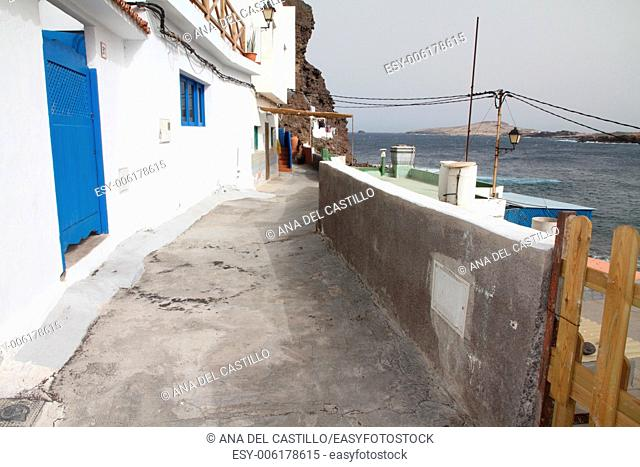 Tufia Beach and village Gran Canaria Spain