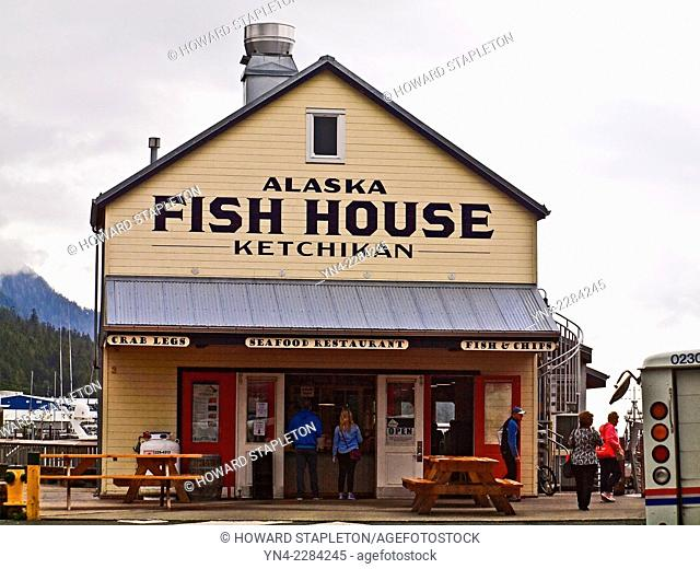 A seafood restaurant in Ketchikan, Alaska,