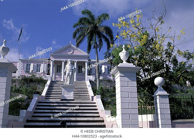 building, Columbus, construction, government, government building, Government House, home, house, Nassau, New Provid