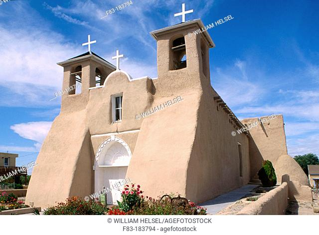 Church of San Francisco de Asís. Taos. New Mexico. USA