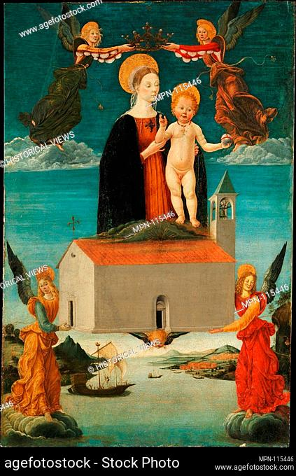 The Translation of the Holy House of Loreto. Artist: Attributed to Saturnino Gatti (Italian, L'Aquila 1463-1518 L'Aquila); Date: ca