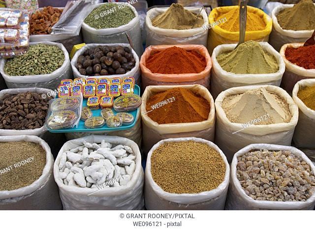 Spice Stall, Anjuna Beach Market, Goa, India