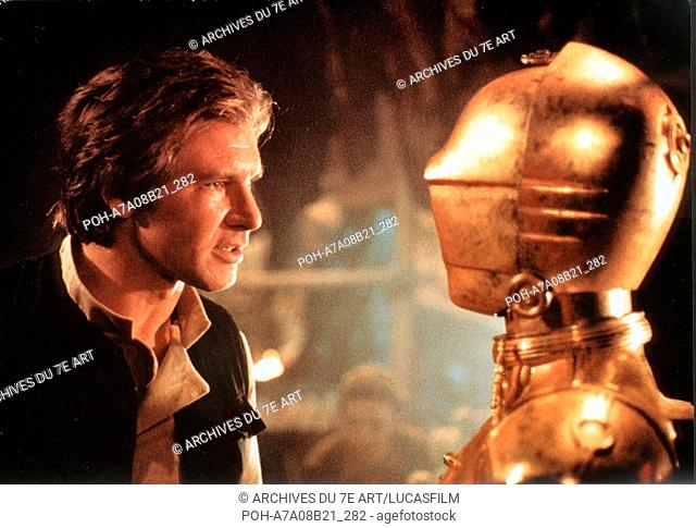Star Wars: Episode VI - Return of the Jedi  Year : 1983 USA Harrison Ford, Anthony Daniels Director: Richard Marquand. It is forbidden to reproduce the...
