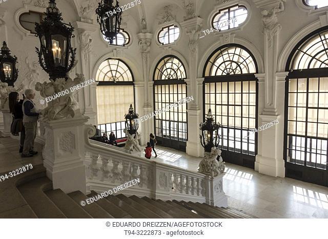 Upper Belvedere Palace interior, Vienna