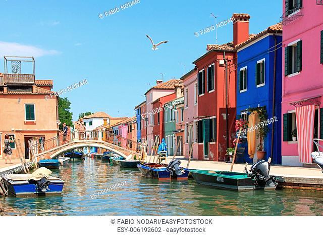 Burano canal, Venice