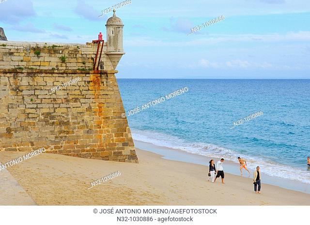 Santiago Fortress. Forte de Santiago. Sesimbra. Setubal district. Portugal