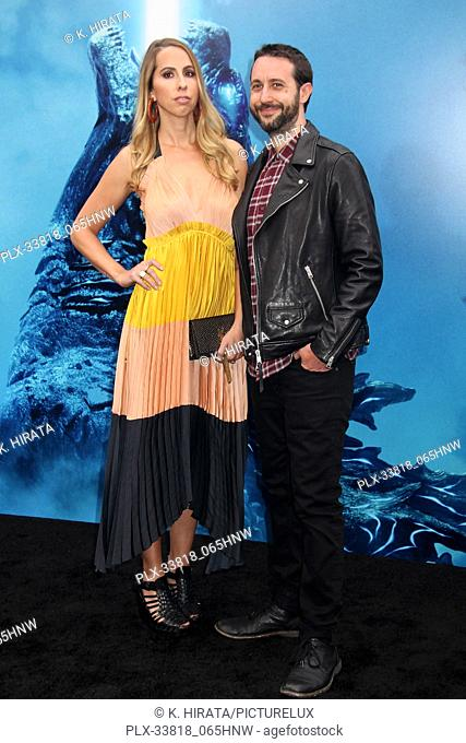 """Lauren LaRocca, Jason LaRocca 05/18/2019 """"""""Godzilla: King of the Monsters"""""""" Premiere held at the TCL Chinese Theatre in Hollywood, CA. Photo by K"""