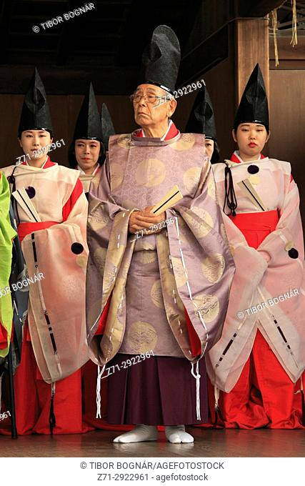 Japan, Kyoto, Gion Matsuri, festival, traditional performance, people,