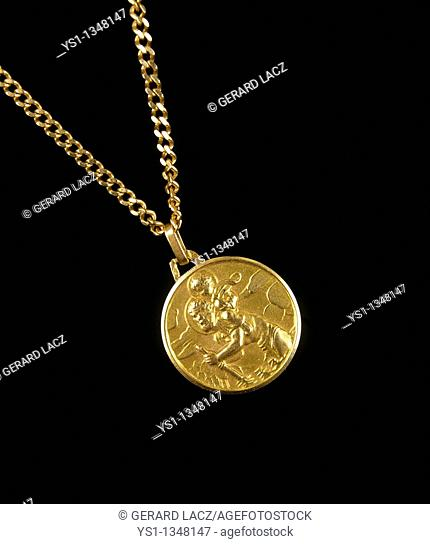ST CHRISTOPHER MEDAL, A GOOD LUCK SYMBOL