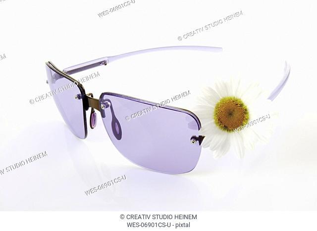 Sun glasses, close-up