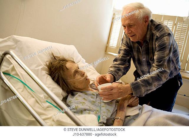 Hospice care. Poughkeepsie, NY. USA