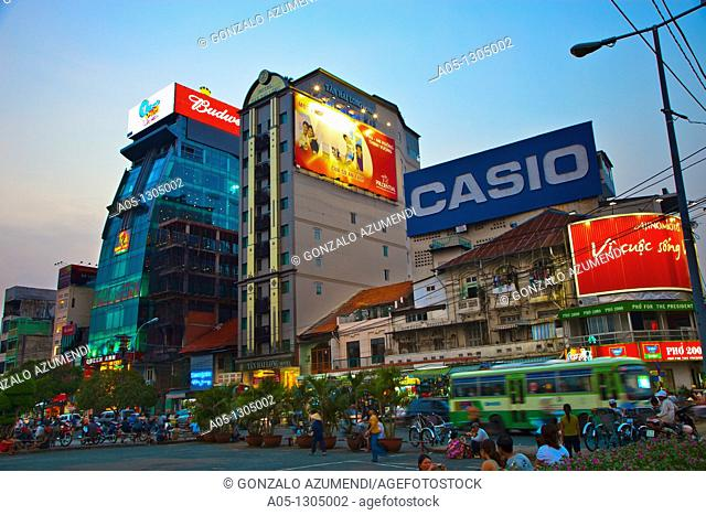 Ho Chi Minh City (formerly Saigon). South Vietnam