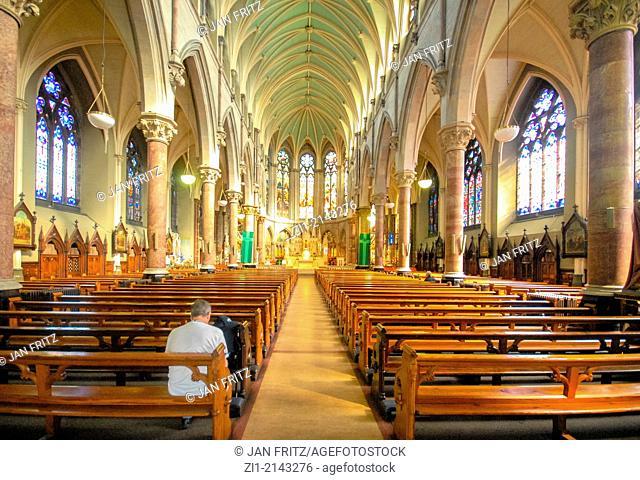 interior of St' John's church in Dublin