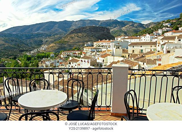 Panoramic view, Castril, Granada-province, Region of Andalusia, Spain, Europe