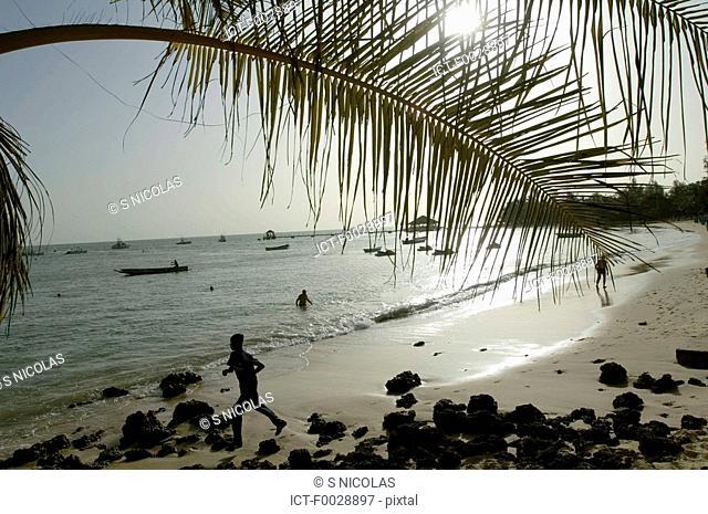 Senegal, Petite côte, Saly, beach