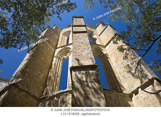Former San Anton Convent, Actual pilgrim shelter, Castrojeriz, Burgos province, Castille-Leon, Spain
