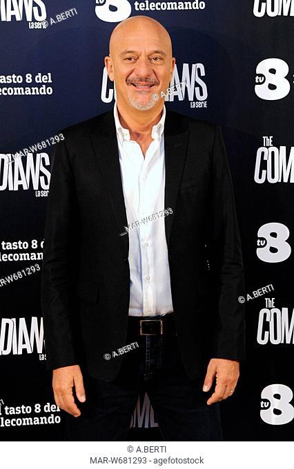 Claudio Bisio milano 30-10-2017