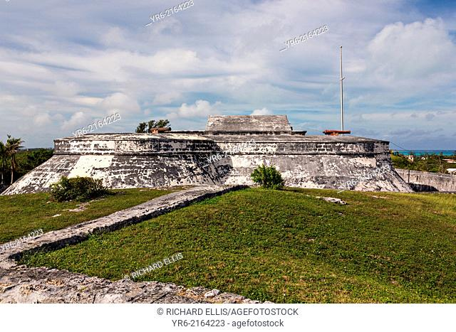 Fort Charlotte in Nassau, Bahamas. Built in 1789 by Lord Dunmore and named in honor of the wife of King George III