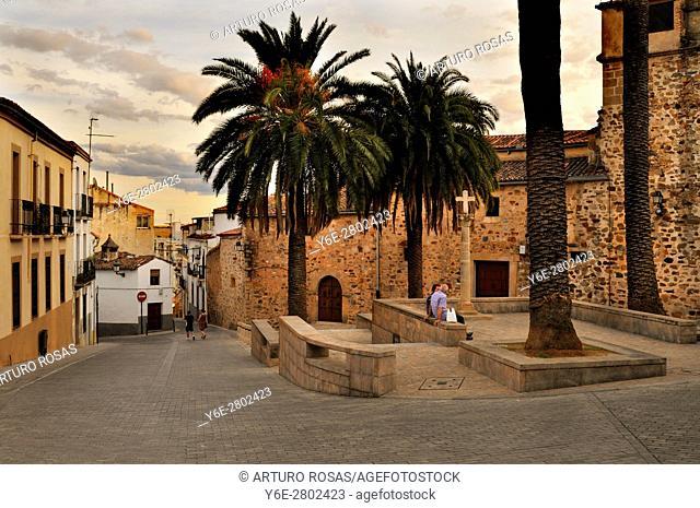 Santa Clara Square, Cáceres, Spain