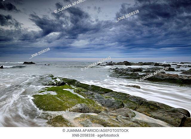 Barrica beach, Biscay, Basque Country, Spain, Europe