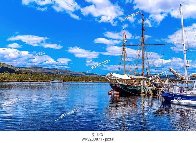 Huon River; Tasmania; Australia