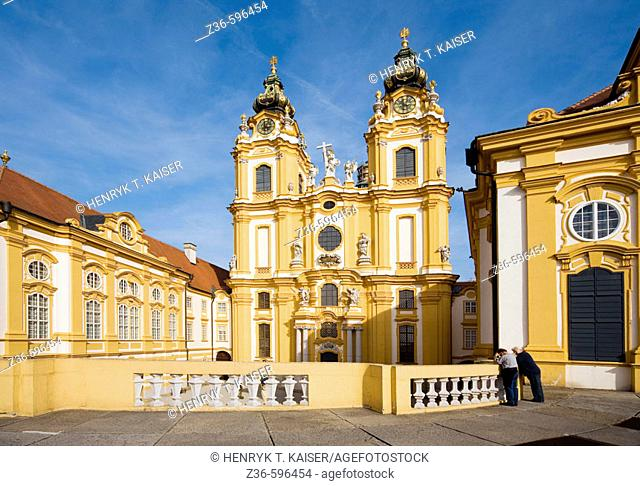 Melk Benedictine Abbey Austria