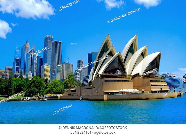 Sydney Opera House Australia New South Wales AU